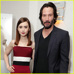 Lily Collins & Keanu Reeves Attend 'To The Bone' LA Screening