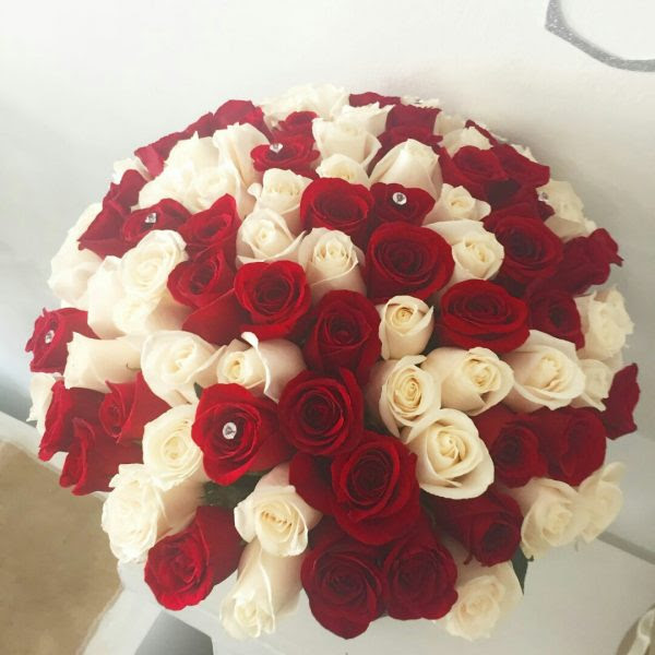 101 Roses Bouquet Sisay