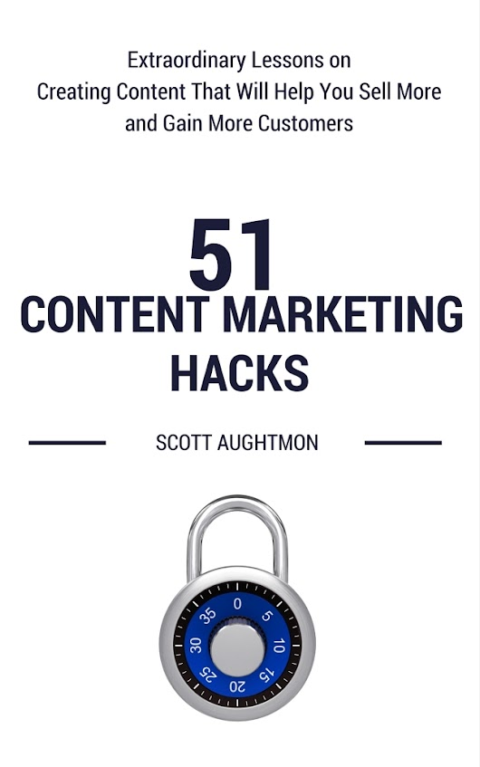 """51 Content Marketing Hacks"" Nominated For the 2016 Small Business Book Awards - Bay Business Help"