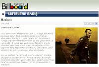 Tarkan featured on Billboard