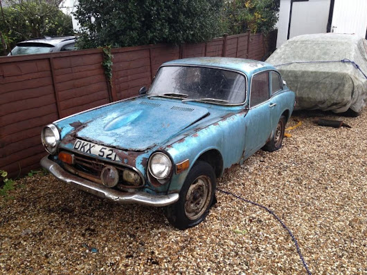 Wheels Of The Week: A Massively Rusty But Rather Tiny Honda S800 Coupe - ClickMechanic