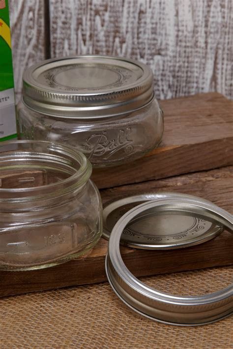 Ball Jars Collection Elite Wide Mouth   8oz (Pack of 4)