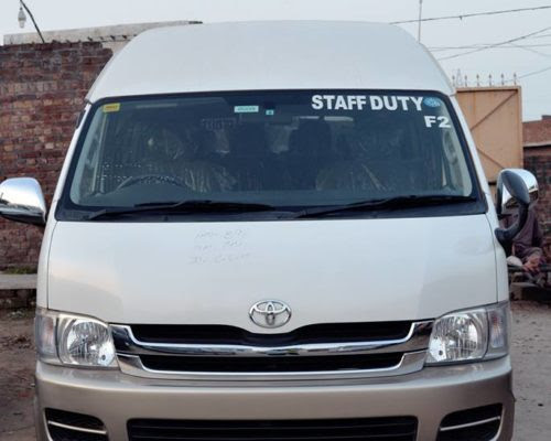 TOYOTA HIACE GRAND CABIN – Rent Karo