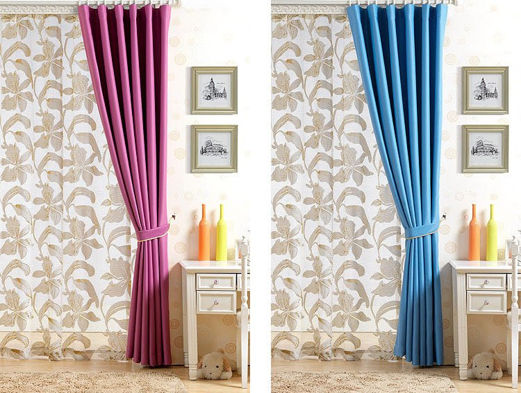 Custom size, cheap made to measure velvet curtains,media room ...