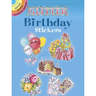 Glitter Birthday Stickers [Book]