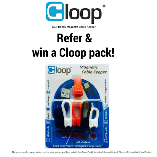 Refer your friends & win Cloop Pack!