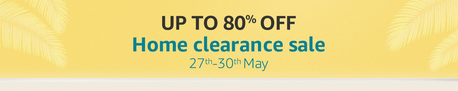 Home Clearance Sale