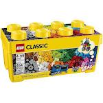 LEGO Classic Medium Creative Bricks Kids 484 Piece Building Box Set | 10696 by VM Express