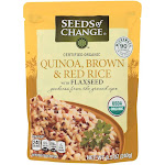 Seeds Of Change, Quinoa Brown & Red Rice - 8.5 Ounce -PACK 12