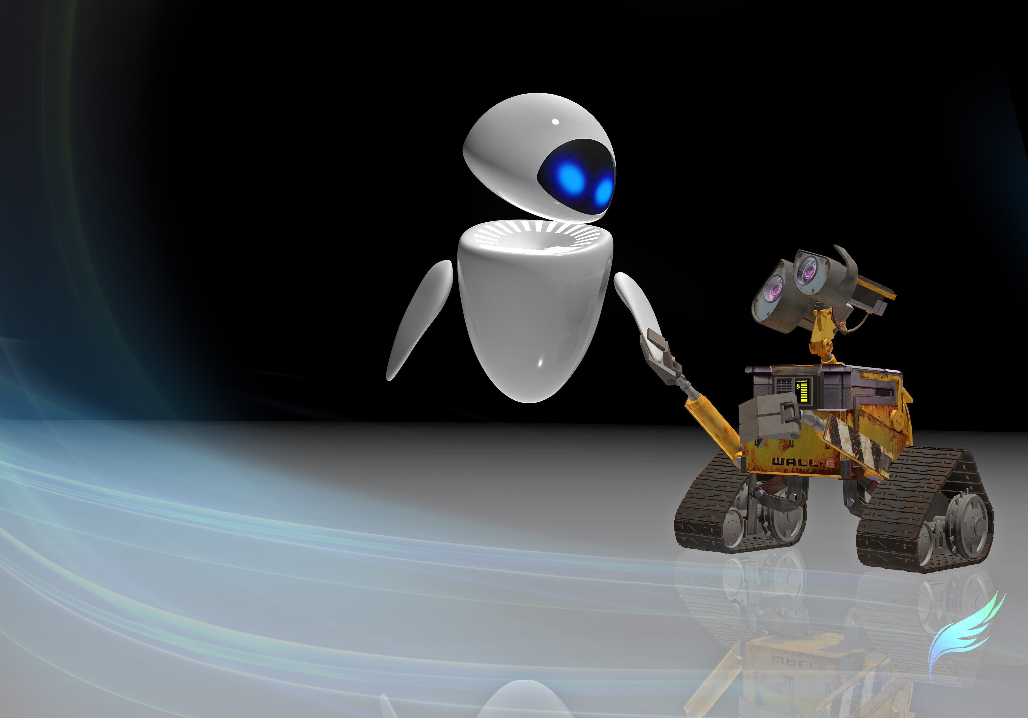 WALL E And EVE Wallpapers 58 Wallpapers HD Wallpapers