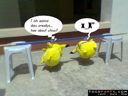 Suckling Pikachus