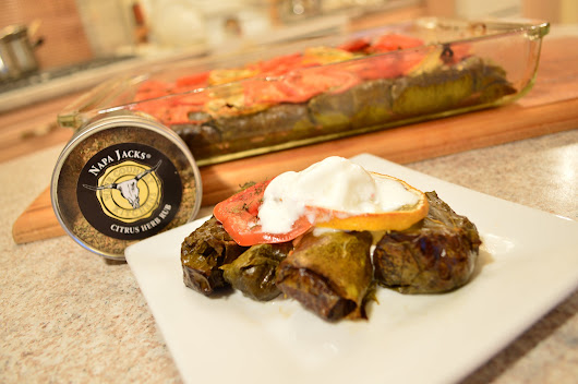 How To Cook Napa Jack's Citrus Herb Dolmas Recipe Video