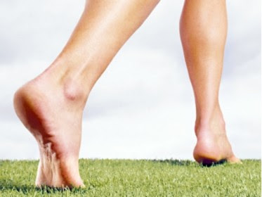 What is bare foot running?