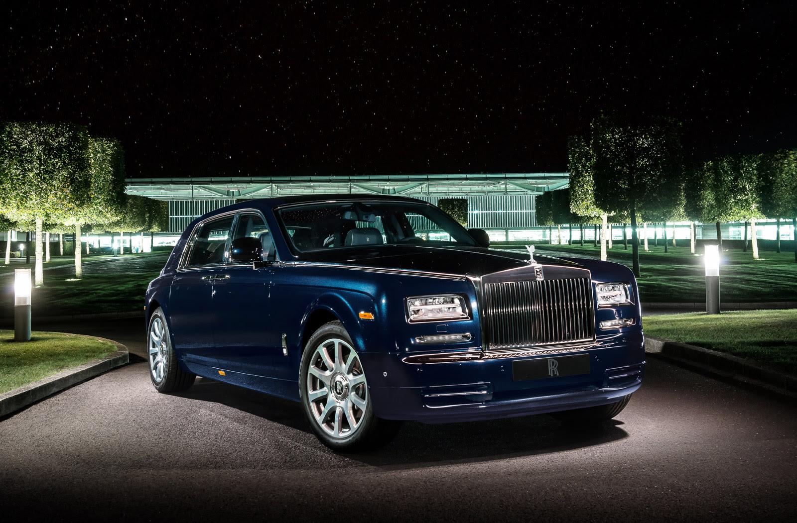 Diamond-Studded Rolls-Royce Phantom Shines At Dubai Motor Show
