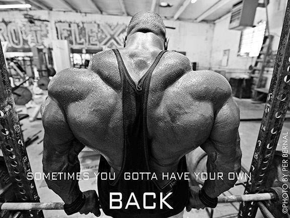Sometimes You Gotta Have Your Own Back Body Quotes