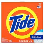 Tide HE Powder Laundry Detergent, Original, 180 loads, 254 oz