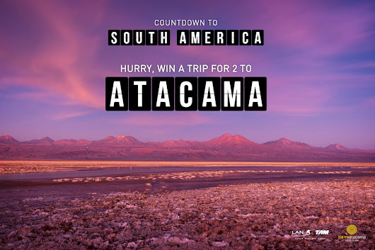 Win a Trip for Two to Chile's Atacama Desert!