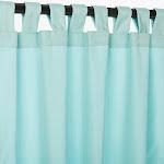 "Pawleys Island Outdoor Curtain Panel - Canvas Glacier - 50"" W x 96"" L"