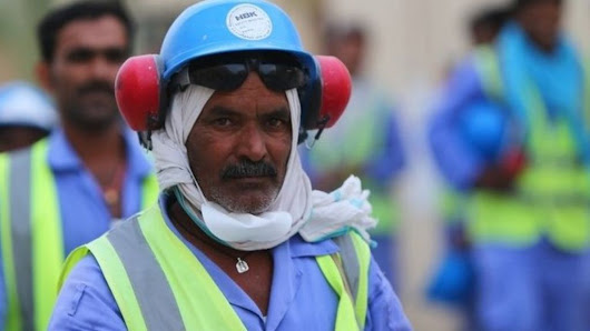 Arrested for reporting on Qatar's World Cup labourers - BBC News