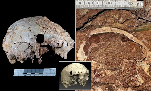 400,000-year-old skull of a mystery human has been found