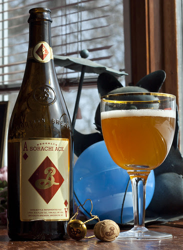 Review: Brooklyn Sorachi Ace Beer by Cody La Bière