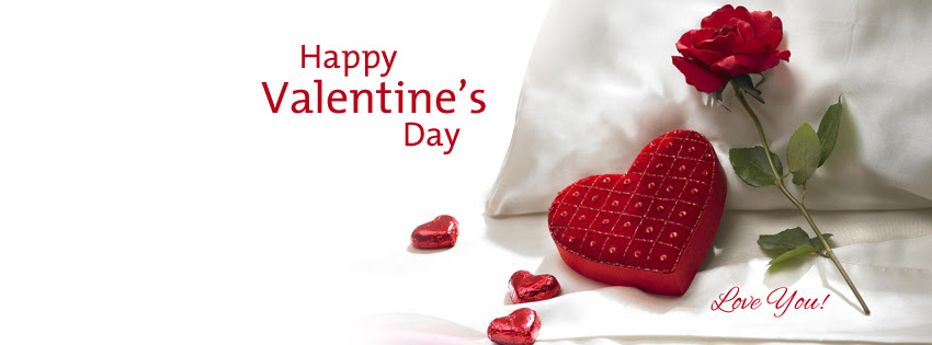 Happy Valentines Day I Love You Facebook Covers