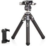 Benro Tablepod Kit with Arca-Swiss Style Camera Plate and Smartphone Adapter (TABLEPODKIT)