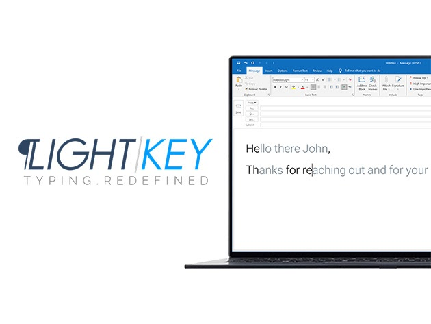 Lightkey Pro Text Prediction Software: Lifetime Subscription for $49
