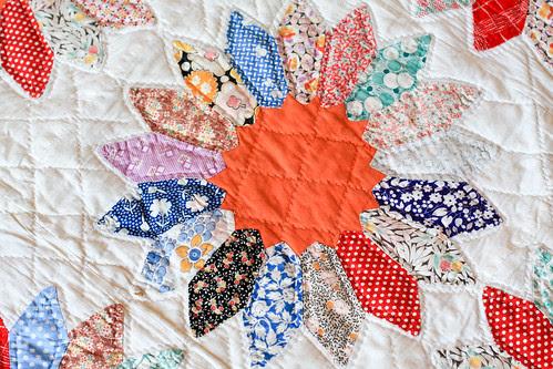 Vintage Dresden Quilt by Jeni Baker