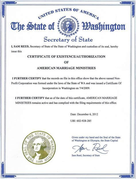 I Am A Ordained Minister From American Marriage Ministries