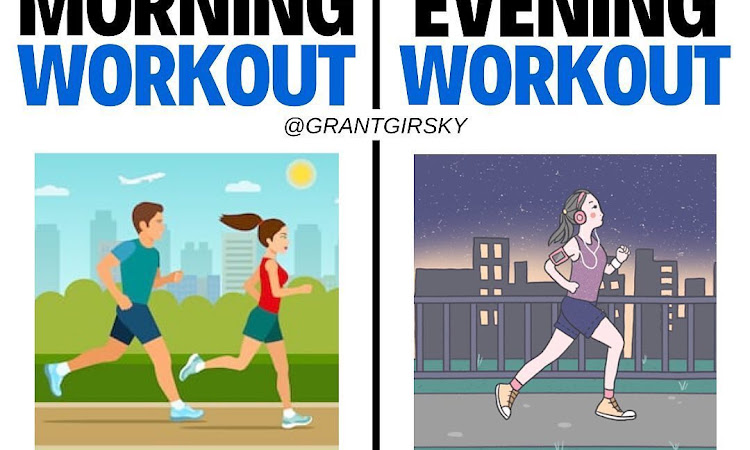 MORNING VS. EVENING WORKOUTS