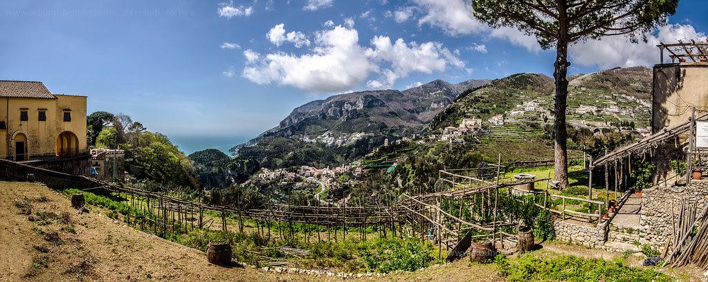 Veduta da Ravello - Costiera Amalfitana
