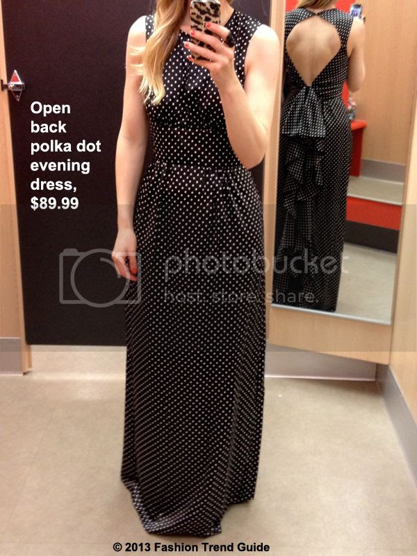 Kate Young for Target polka dot evening dress