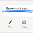 Share a post, your location, or an event - Google+ Help