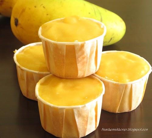 Sponge Cake Cup Sessert