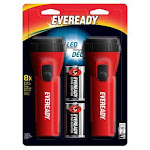 Eveready Battery EVEL152S FlashlightLedEcon2/Pk