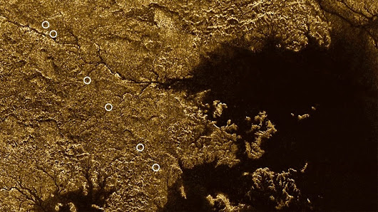 Deep, Flooded Canyons Found on Saturn's Moon Titan (Video)