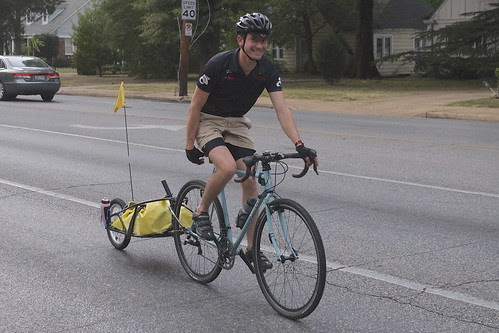 Cort, Cycle Memphis' resident mechanic.