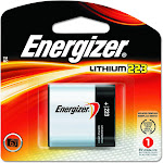 Energizer EL223APBP Professional 6V Lithium Photo Battery