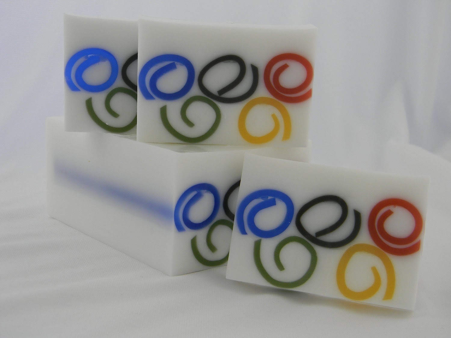 Olympic Ring Soap - London Olympics - special olympics - 2012 olympics - olympics party