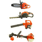 Husqvarna Kids Toy Play Set Chainsaw + Hedge Trimmer + Leaf Blower + Weed Eater