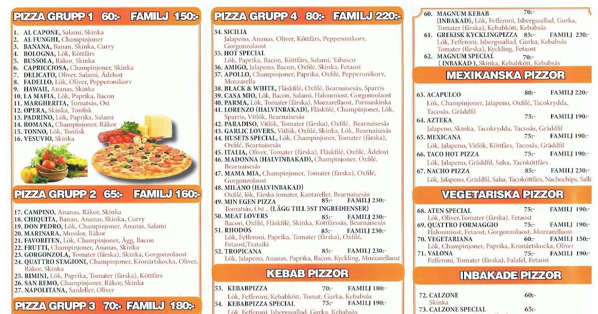 pizza falun hemkörning