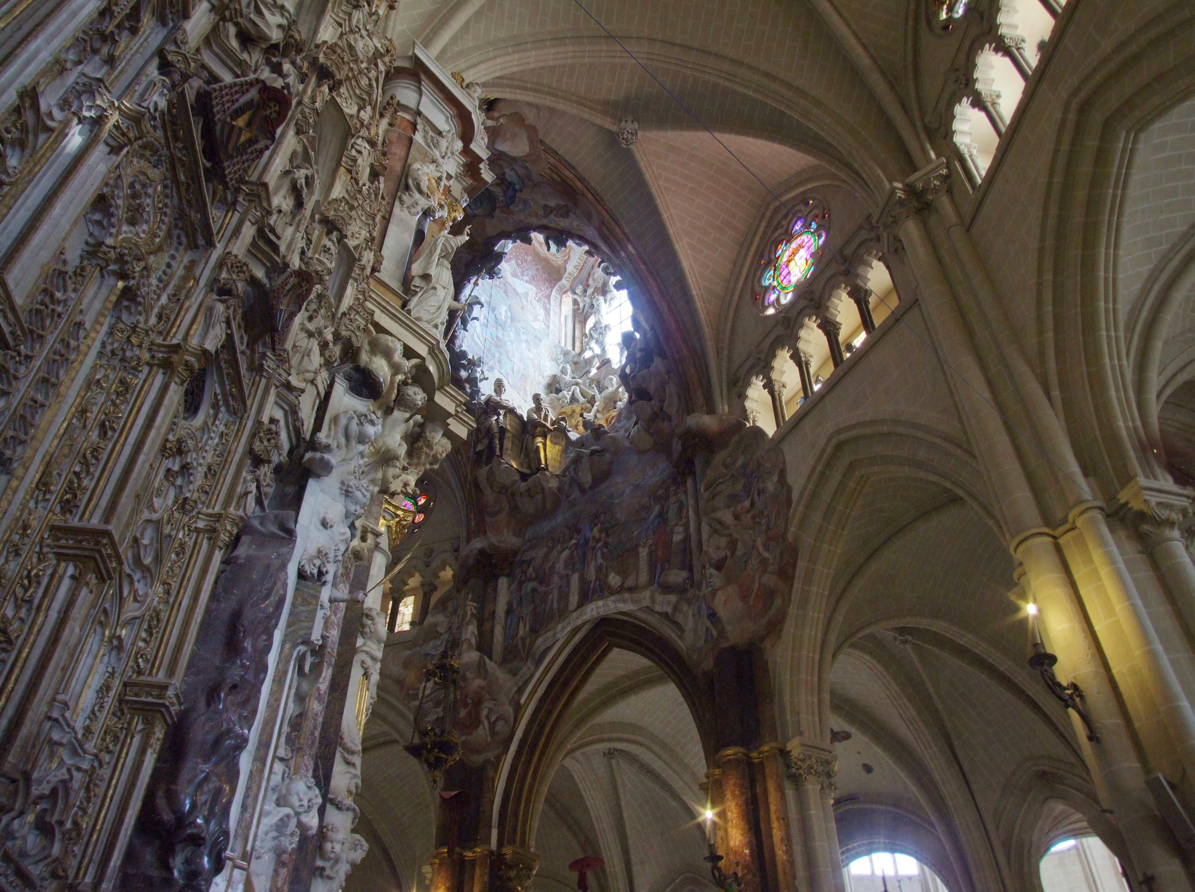 Resultado de imagen de catedral Toledo transparente