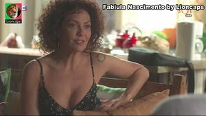 Fabiula Nascimento sensual na novela Segundo Sol