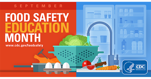 Food Safety Education Month | Food Safety | CDC