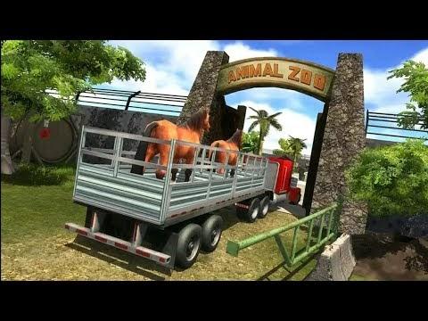 Zoo Animal Transport Truck Simulator Game / Mk Gaming #1