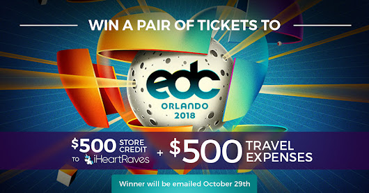 Edc Tickets Giveaway