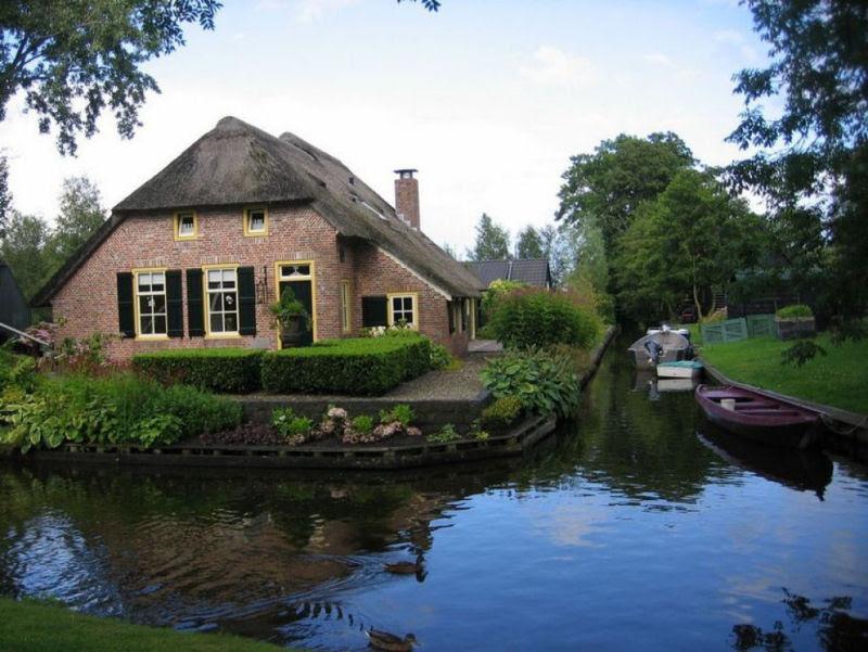 Giethoorn, a Veneza rural da Holanda 21