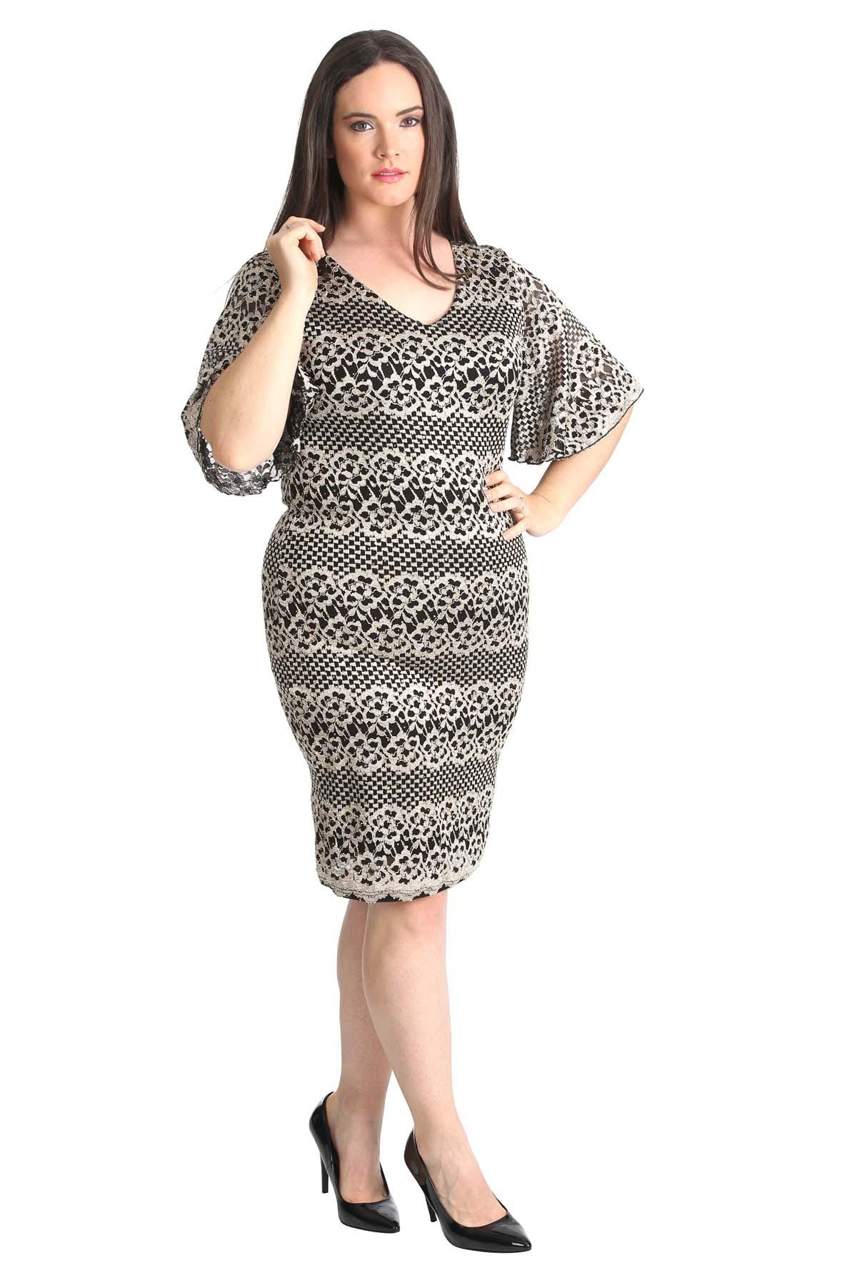 Bodycon midi dress plus size shopping centre