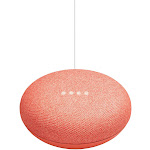 Google - Home Mini (1st Generation) - Smart Speaker with Google Assistant - Coral